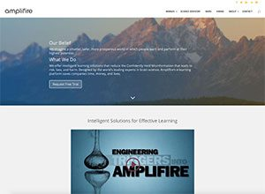 Amplifire Website